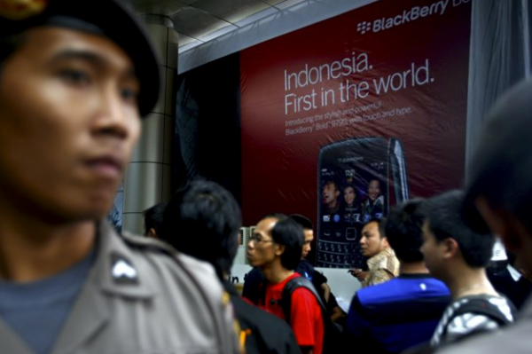 Indonesia: Hệ điều hành Android chiếm vị trí số 1 của BlackBerry với 52% thị phần