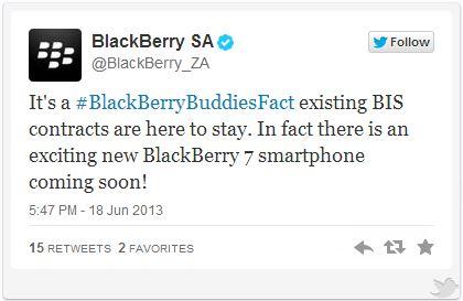 BlackBerry sẽ phát hành thêm một mẫu BlackBerry 7 mới?